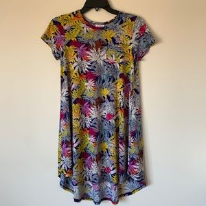 LulaRoe Size 12 (Medium) hi-low knee Length Dress